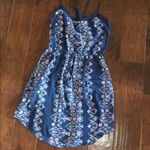 Navy blue sun dress